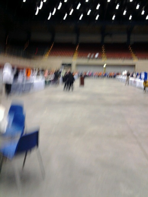 Stand Down 2012 opening ceremony!I'm at Savannah Civic Center (via Scope)