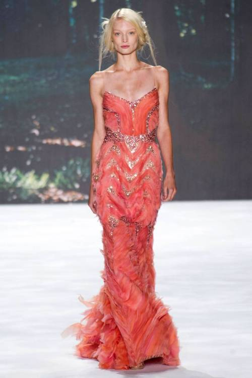 Lots of beautiful things at Badgley Mischka Spring 2013