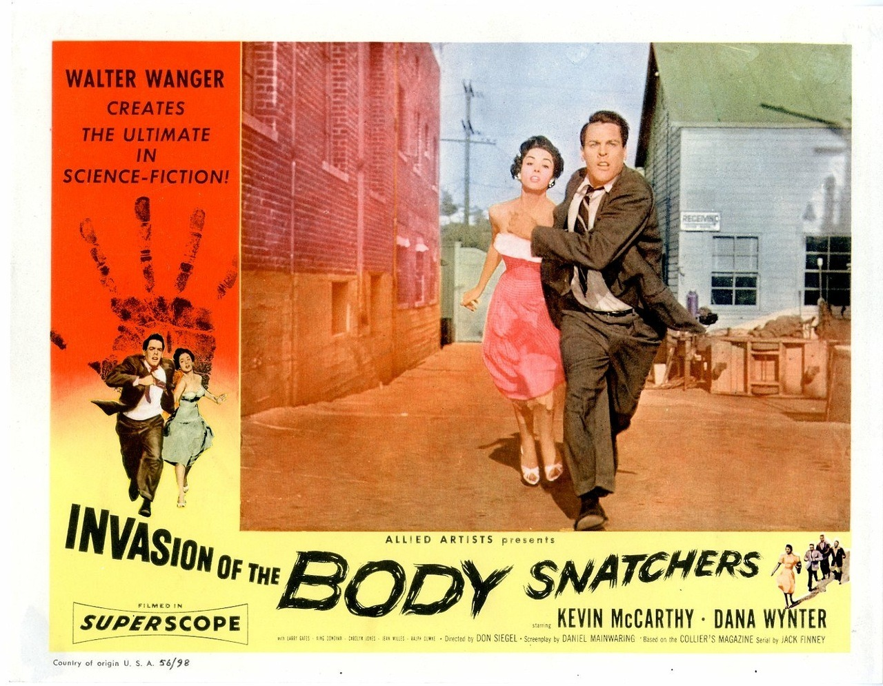 Invasion of the Body Snatchers, US lobby card. 1956