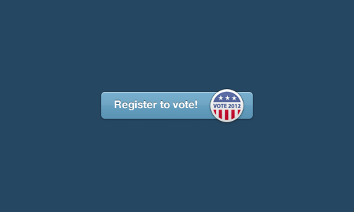 election:  TUMBLR TUESDAY: REGISTER TO VOTE EDITION Does it feel like election day is still ages away? It's not; in fact, early voting began for half of the country this week. And for half of the country, if you're not yet registered in just two weeks, you'll lose the chance to vote entirely. That's what happened to 6 million Americans in 2008; this year, we're participating in National Voter Registration Day to help make sure you're not left out. If you're in the US, you should see the button above on your Dashboard; click it to register through our friends at Our Time.  No matter how you feel about politics, remember that your vote has the power to make a difference for at least one critical candidate or ballot measure on your ticket. If you don't participate in the voting booth, you allow others to make important decisions for you. Need some inspiration? Check out this gorgeous GIF campaign from MTV's Power of 12, a new video from the cast of Workaholics, and a gallery of voting-inclined celebs at HyperVocal. For more info, follow National Voter Registration Day on Tumblr, or track the tag #925NVRD. You can register in person at an NVRD meetup happening near you, or phone in any questions to the Election Protection Hotline at 1-866-OUR-VOTE. And even if you're already registered, please reblog this post to ensure none of your followers miss it!   This Expat will be voting quietly but enthusiastically at her kitchen table with a mug of Lady Grey and a #2 pencil.