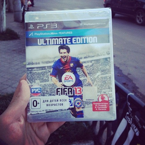 Иэй Спортс Фифа 13, йо) #fifa13 (Taken with Instagram)