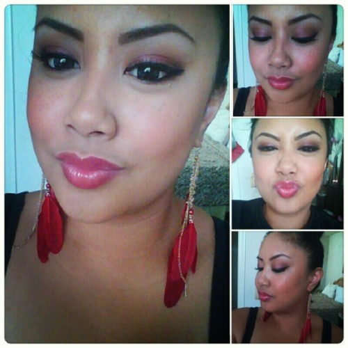 Fall FOTD from yesterday :) Tutorial will be up soon, as requested.. #fallmakeup  (Taken with Instagram)