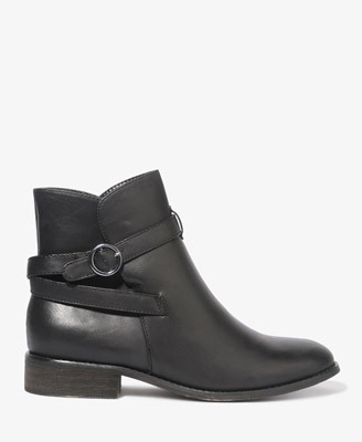 aglock:  (via Buckled Booties | FOREVER21 - 2000049355) I think I also bought these in the grey.  These actually arrived today, in the grey color. It's more of a brown/grey, but I really like the color. I might also get these in black. The booties are very cute!