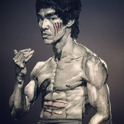 the best to ever do it! #brucelee #martialarts by djdubfloyd http://instagr.am/p/QAL7KKvUxY/