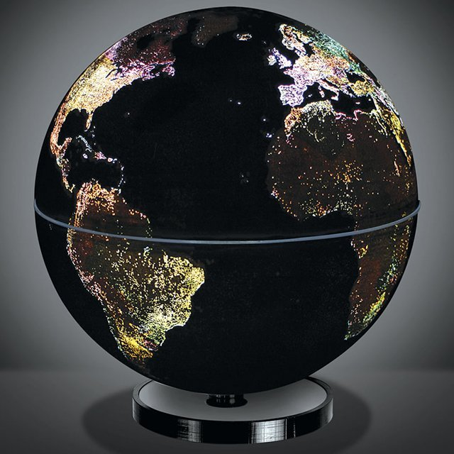 (via City Lights Geographical Globe)