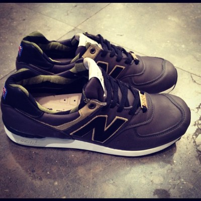 coletteteam:  Just arrived NEW BALANCE 576 FLIMBY FACTORY 30th Anniversary. #colette #colettestore #newbalance (Pris avec Instagram)