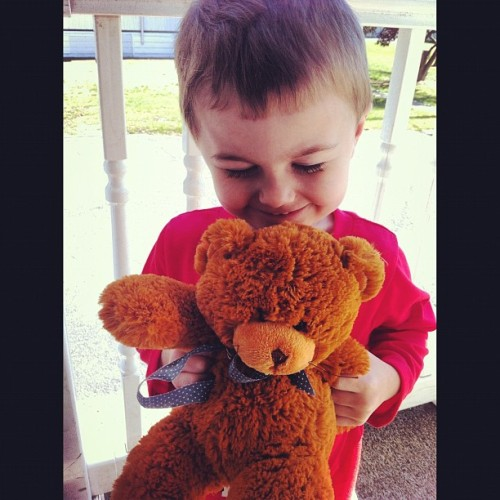 #cute #smile #rise #teddybear #kids #instamood @aprilmariey  (Taken with Instagram)