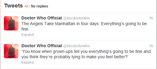 doctorwho:  mark—twain:  i was perfectly okay. until this happened.