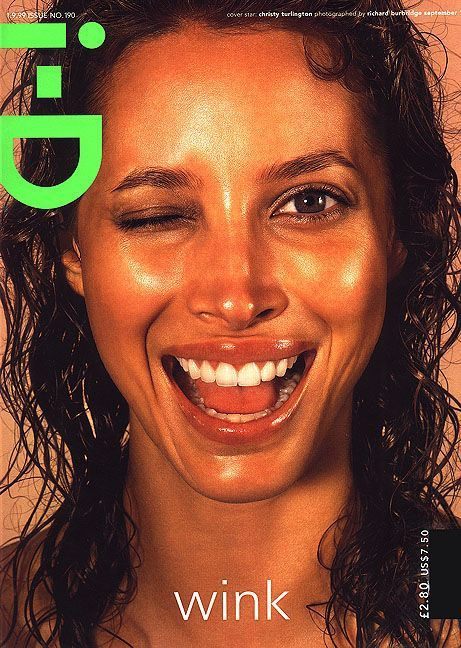 christy turlington i-D
