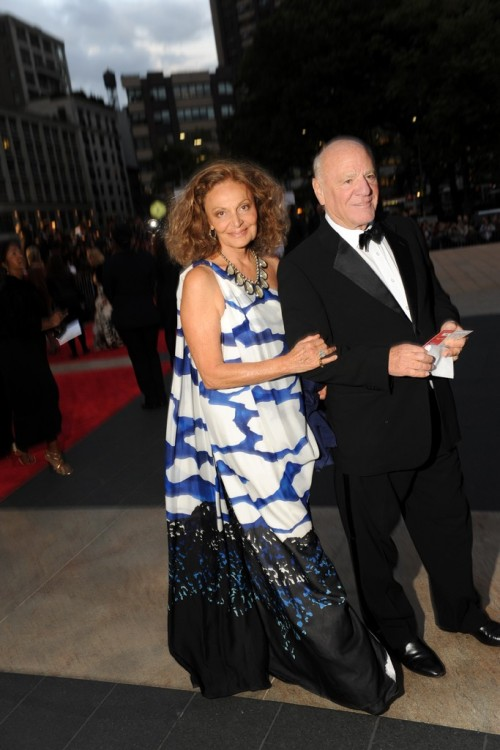 We love this photo of Diane von Furstenberg with Barry Diller at the New York City Ballet Fall Gala. She looks absolutely flawless!