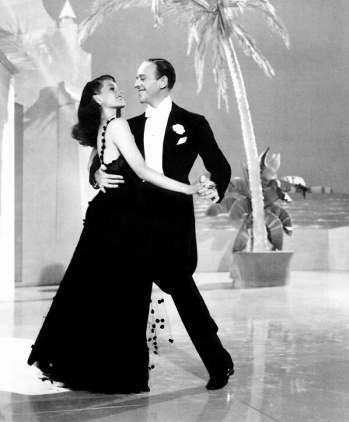 Rita Hayworth and Fred Astaire in You'll Never Get Rich, 1941