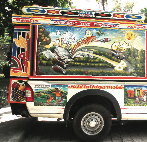 BiblioTaptap Bookmobiles for Haiti