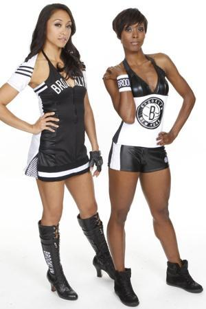 "The Brooklynettes cheerleader uniforms make them look like the roller-derby team from a prison film. I wonder if Jay-Z ""designed"" these himself too."