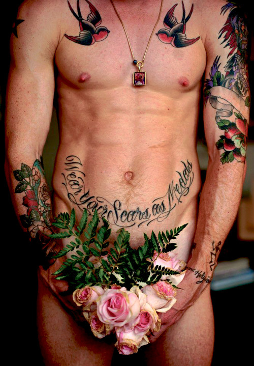 sebaseabass:  I love tattoos  Holy fuck me sideways.