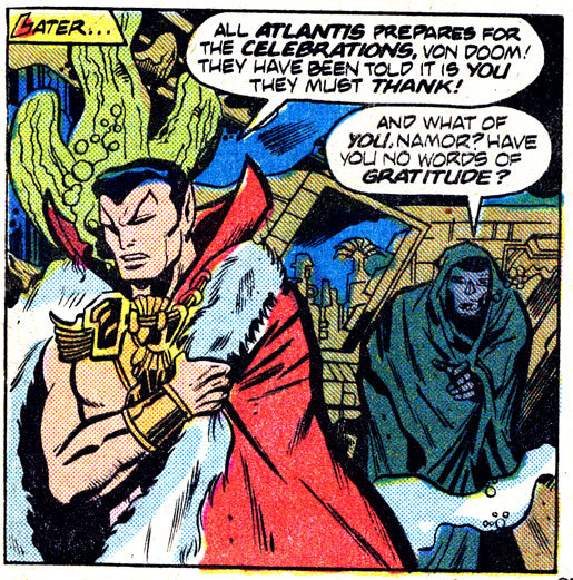 Yeah, Namor - what of your gratitude? :'(