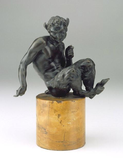 Satyr 16th Century, Artist Unknown. Bronze, height: 11 3/8 in. (28.9 cm.) North Carolina Museum of Art