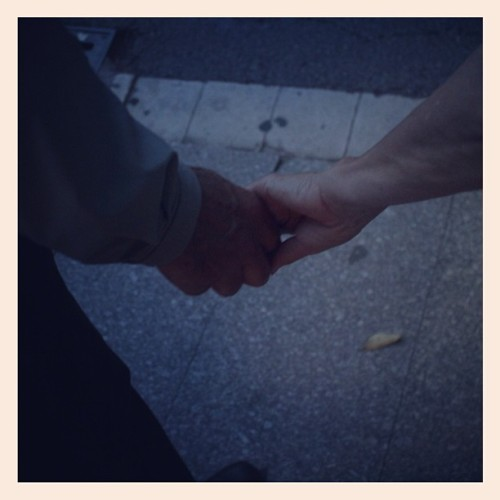 My parents still hold hands at Crossings.  (Taken with Instagram)