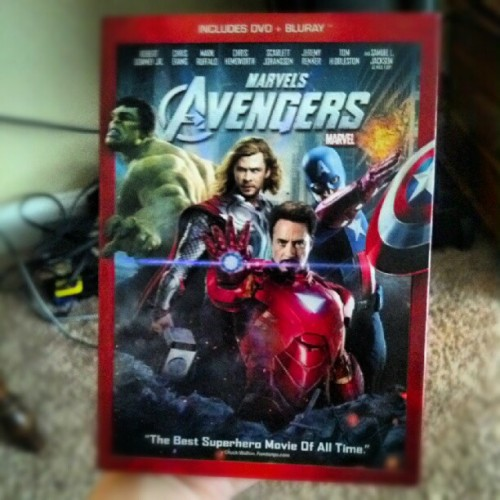 IT'S HERE #avengers (Taken with Instagram)
