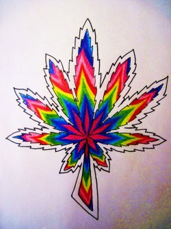 color pencil and sharpie.  =D