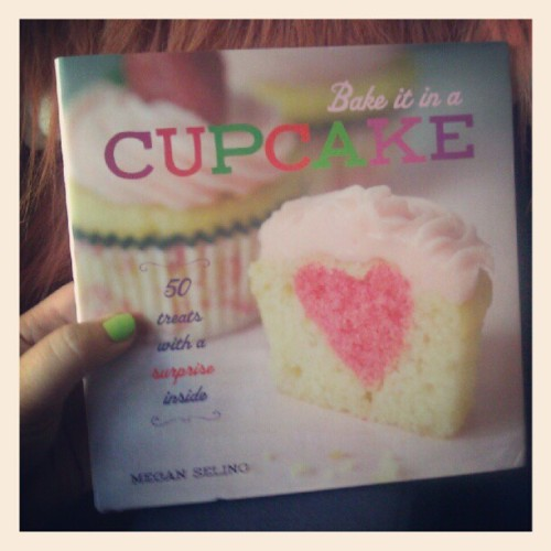 My cookbook, Bake it in a Cupcake: 50 Treats With a Surprise Inside, will be out in exactly one week! I AM SO EXCITED! To celebrate (and because I'm impatient and want you to have it now), I'm giving away a copy! One lucky, sugar-loving reader will receive a copy of the new book (I'll even sign it if you want!), along with some adorable cupcake-making supplies including some of my favorite cupcake wrappers, sprinkles, cupcake toppers, and a few more surprises.  It's really easy to enter, too. Just leave a comment on this post, telling me what you have baked or would like to bake into a cupcake. Mini pumpkin pies? Gummy bears? BBQ pork? No rules! Get crazy! Or don't. No judgment.  I'll randomly pick one winner on Monday, October 1, to receive the prize pack. If you aren't feeling lucky, you can also pre-order a copy (or several—they make good gifts!) at Amazon.com, Barnes & Noble, Indiebound.com, Powells.com (Portland), and Elliott Bay Book Company (Seattle). Find it in stores Oct 2.  Good luck!
