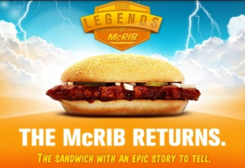"The McRib Contains an Ingredient Most Commonly Found in Yoga Mats Can YOU say ""azodicarbonamide?"""