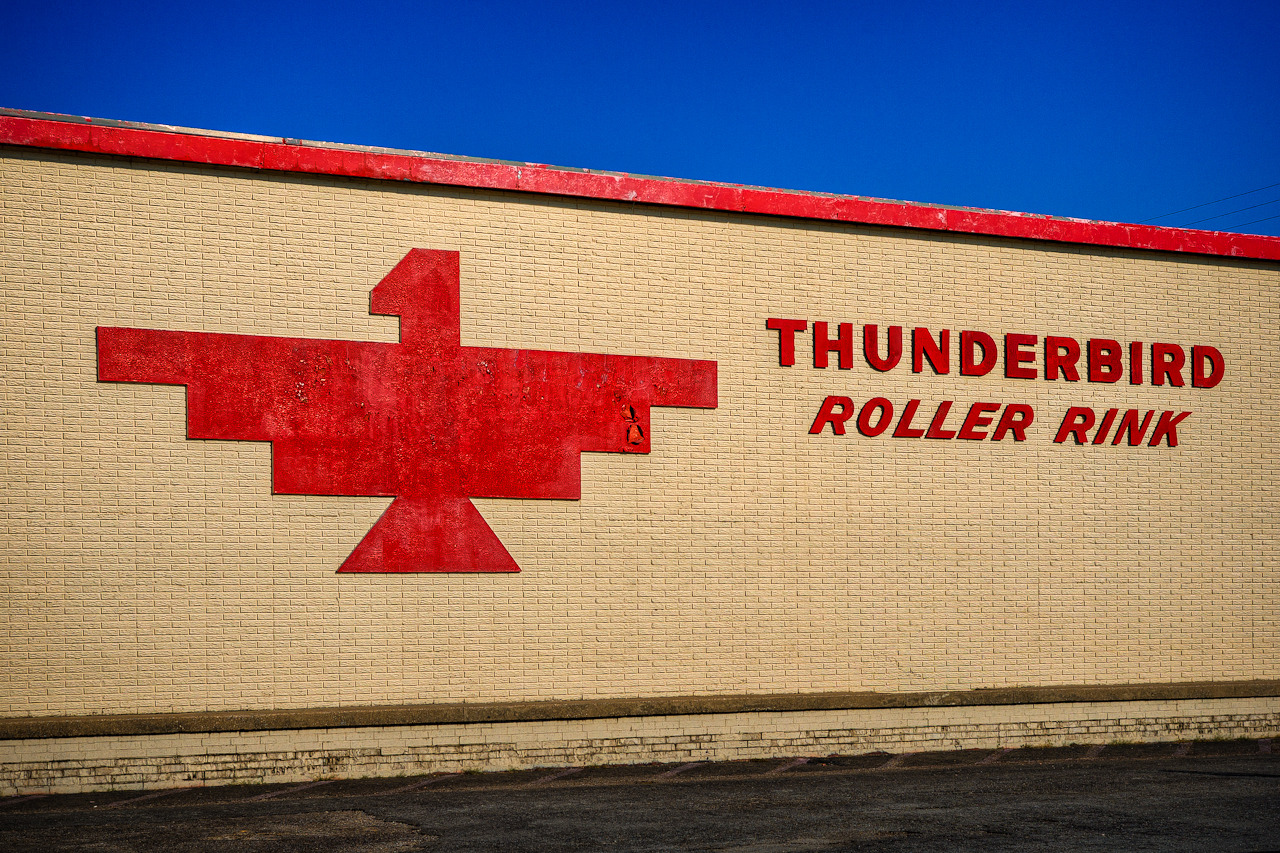 ianaberle:  The Thunderbird Had a chance to go back and visit the The Thunderbird Roller Rink this past weekend. I hadn't been there in years. When I was in high school, this is where you would go to skate in Plano. It's been that way for almost 40 years.
