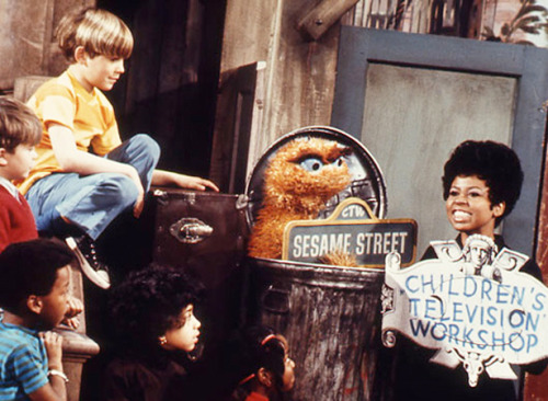 "nprfreshair:  43 Surprising Facts About 'Sesame Street' Sesame Street kicked off its 43rd season yesterday. We're big fans of the Street, and to prove it, here are some of our favorite Sesame facts. 1. Oscar the Grouch used to be orange. Jim Henson decided to make him green before season two. 2. In 1970, Ernie reached #16 on the Billboard Hot 100 with the timeless hit ""Rubber Duckie."" 3. During a 2004 episode, Cookie Monster said that before he started eating cookies, his name was Sid. 4. Mr. Snuffleupagus has a first name—Aloysius. 5. How big is Big Bird? 8'2″. Read the other 38 'Sesame Street' facts."