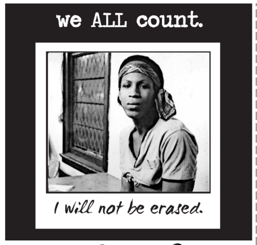 "weallcount:  Marsha P. Johnson, transgender gay rights activist (1944 – 1992) Little known (or recognized) in the Stonewall Rebellion that launched gay liberation, was the role of Marsha P. Johnson and Sylvia Rivera. These two transgender activists were on the leading edge of the rebellion, battling the police, and coining the term ""Whose Streets, Our Streets!"" Marsha co-founded STAR (Street Transvestite/Transgender Action Revolutionaries) with Sylvia Rivera, to help aid, feed and shelter queer/trans people without homes and those who'd runaway. Marsha was found floating in the Hudson River shortly after the 1992 Pride March; the police declined to investigate and ruled her death suicide. Marsha P. Johnson remains a legendary figure in the fight for queer liberation as part of the struggle for racial and economic justice."