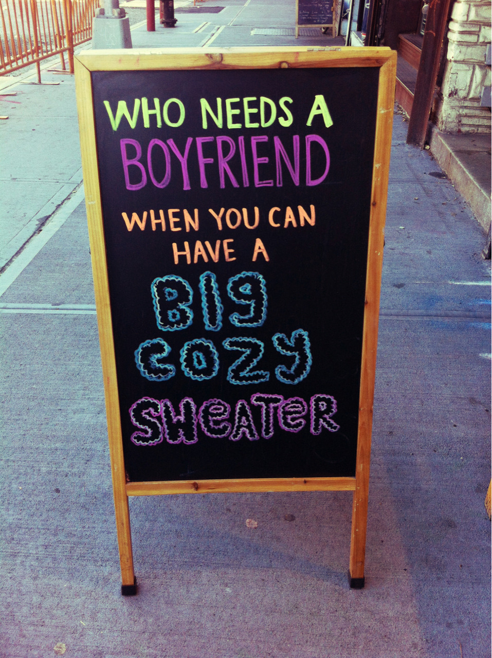 fuckgasm:  but isn't it better if it's your boyfriend's big cozy sweater
