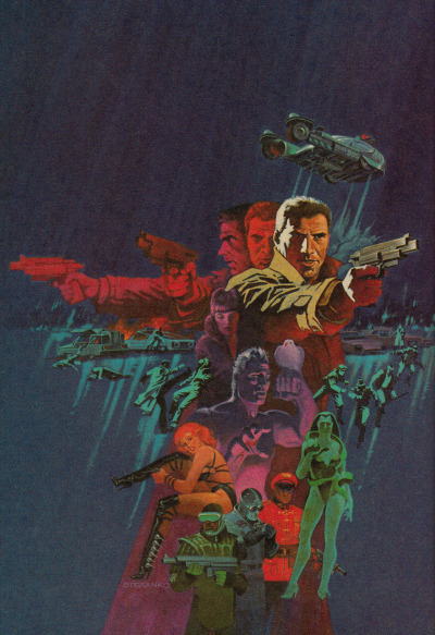 Blade Runner by Jim Steranko