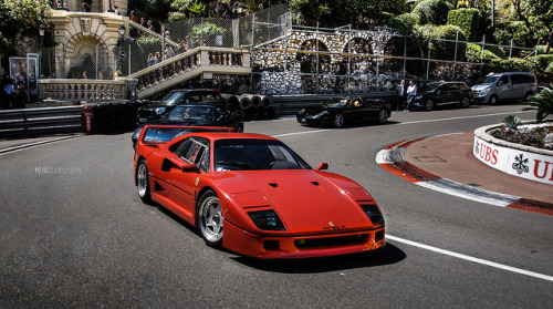 All time favorite. on Flickr.Via Flickr: Ferrari F40 in Monaco, Monte-Carlo 2012Like me on Facebook