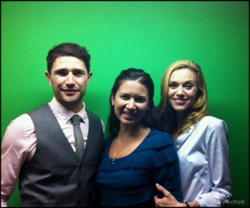 "CHRISTMAS FOR MATT DALLAS supporters will be arriving on November 24th, 2012, according to The Hallmark Channel's new press release!   As we know, Matt and his co-cast members listed below - including Danneel Harris Ackles and Mary Scholz, (not listed below) - spent around 3 weeks from end of August to mid-September filming with director, David Mackay.   NAUGHTY OR NICE   Hallmark Channel Original Movie World Premiere  Saturday, November 24 (8p.m. ET/PT, 7C) Starring: Hilarie Burton, Gabriel Tigerman, Matt Dallas, Meredith Baxter, Michael Gross     Holiday humbug Krissy Kringle (Burton) receives a special delivery intended for Santa Claus - the ""Naughty or Nice"" book he left behind while visiting a child - and uses the power of the book to expose the naughty deeds of those around her, but soon finds that her newfound power isn't always so nice.    [You can also find this information at The Futon Critic.]   The Hallmark Channel website adds this about the story:  Krissy suddenly finds herself at a crossroads in her life - a series of them actually. She's never risen above average, and not really sure if the guy she is dating is really that much into her. By accident - a package arrives at her door - the naughty or nice book! Needless to say, she learns in the book the good and bad about everybody in her life!     [Photo courtesy of Mary Scholz] MDW main site . Twitter . Facebook Page . YouTube Channel . Pinterest"