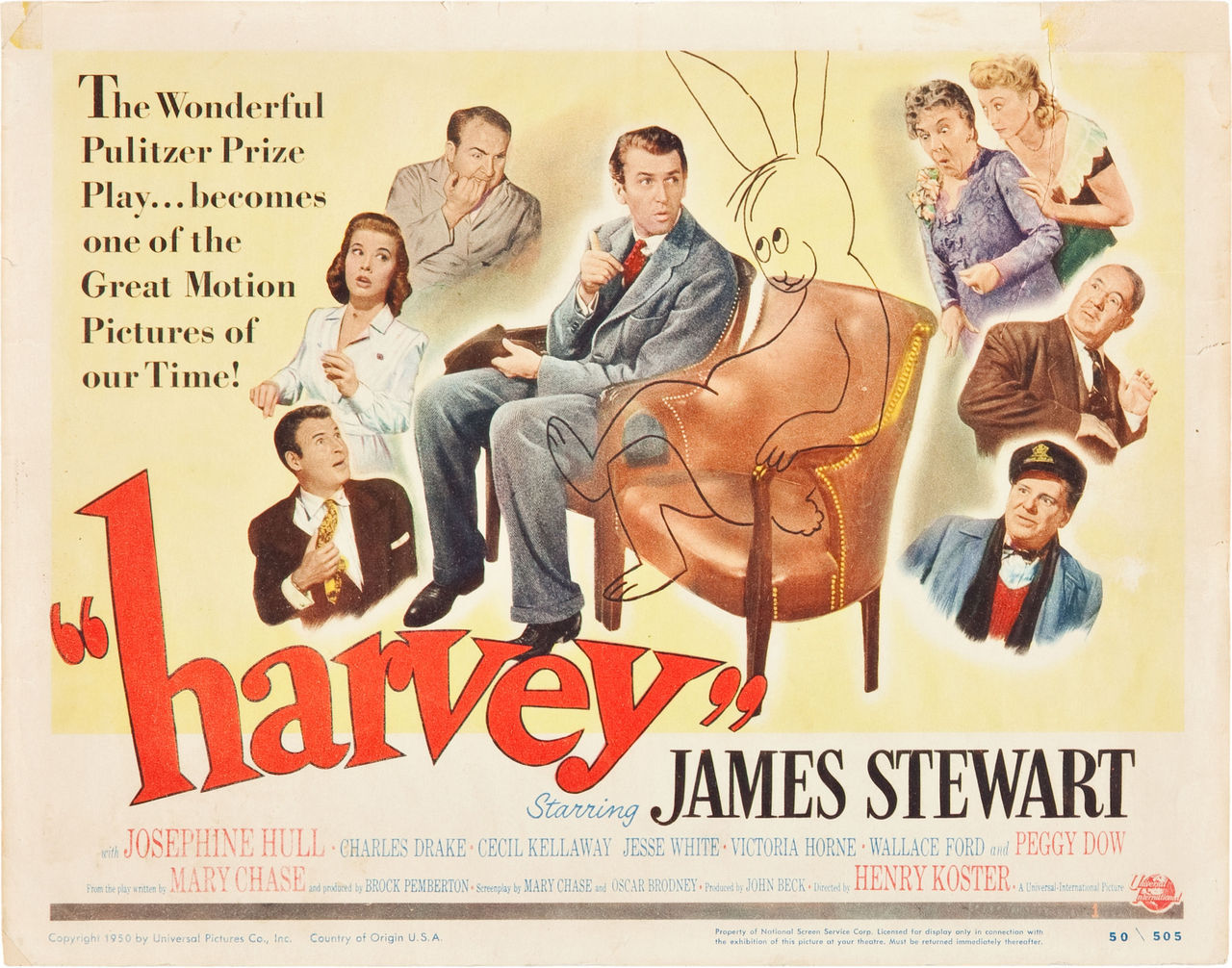 Harvey, US title card. 1950