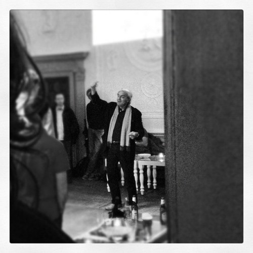 Bill Buxton in full flight. (Taken with Instagram)