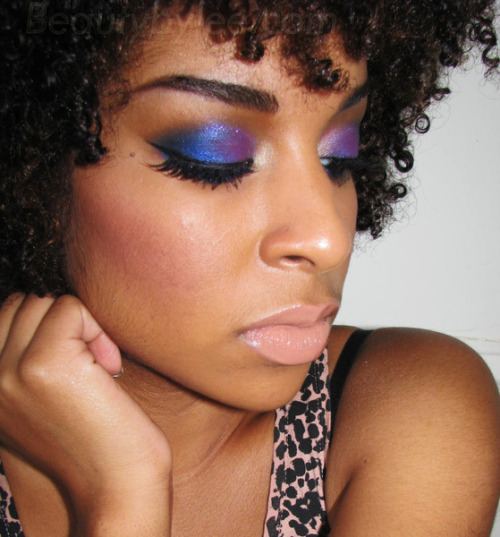 Party eye look by Stephanie L.