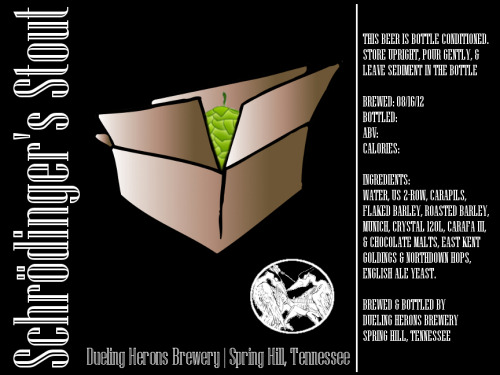 updated the label for this stout.  that's right.  that's a motherfucking hop.  WHAT!?!?