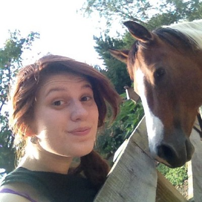 My baby Bella 💚 #horse #barn #myhorse #love #baby #fall (Taken with Instagram)