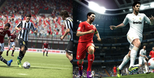 FIFA 13 and PES 2013 Now Available Both FIFA 13 and Pro Evolution Soccer 2013 are now available in North America. The two titles have received mostly positive reviews, with FIFA 13 receiving a Metacritic score of 90 and PES 2013 getting a Metacritic score of 82. FIFA 13 is expected to be released in Australia on Thursday and in Europe on Friday. PES 2013 is available worldwide.