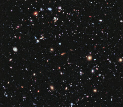 This Is the Most Detailed Image of the Universe Ever Captured NASA has just published the most detailed view of the Universe ever taken. It's called the Extreme Deep Field—or XDF for short. It took ten years of Hubble Space Telescope photographs to make it and it shows some the oldest galaxies ever observed by humans, going 13.2 billion years back in time. It's a mindblowing, extremely humbling view. Not only for what it shows, but for what it doesn't show. While this image contains about 5,500 galaxies, it only displays a tiny part of the sky, a ridiculously small slice of the Universe.