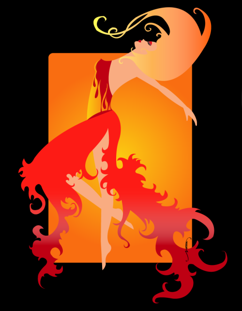 felixinclusis:  wickdpleasures: Elemental Series: Fire by *VanishedDragonfly