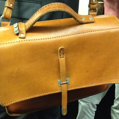 Great looking #vintage #brown #leather #bag #satchel #messenger #case (Taken with Instagram)