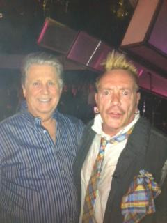 thoughtpeach:  Brian Wilson and Johnny Rotten.