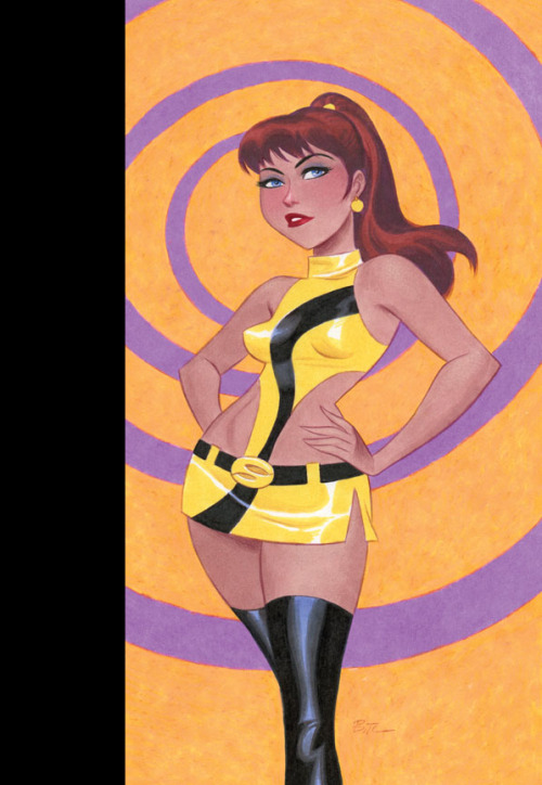 comicartappreciation:  Before Watchmen: Silk Spectre #4 (variant cover) // Bruce Timm