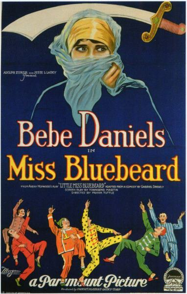 Miss Bluebeard poster