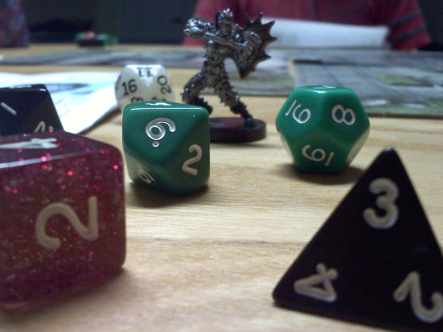 miss-huber:  D&D is a beautiful game   Yes, yes it is.