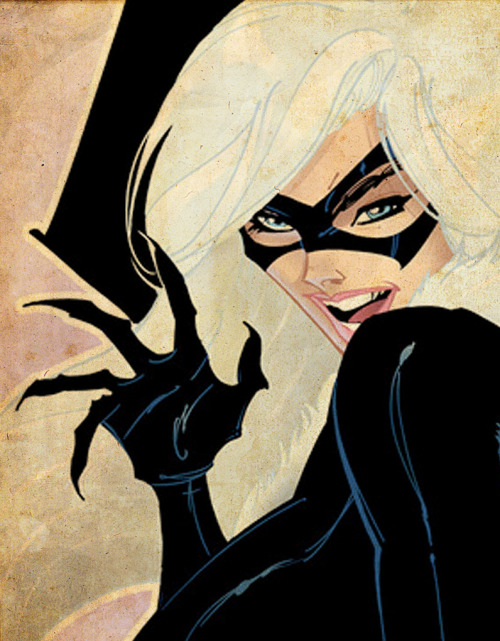 comicbookartwork:  The Black Cat