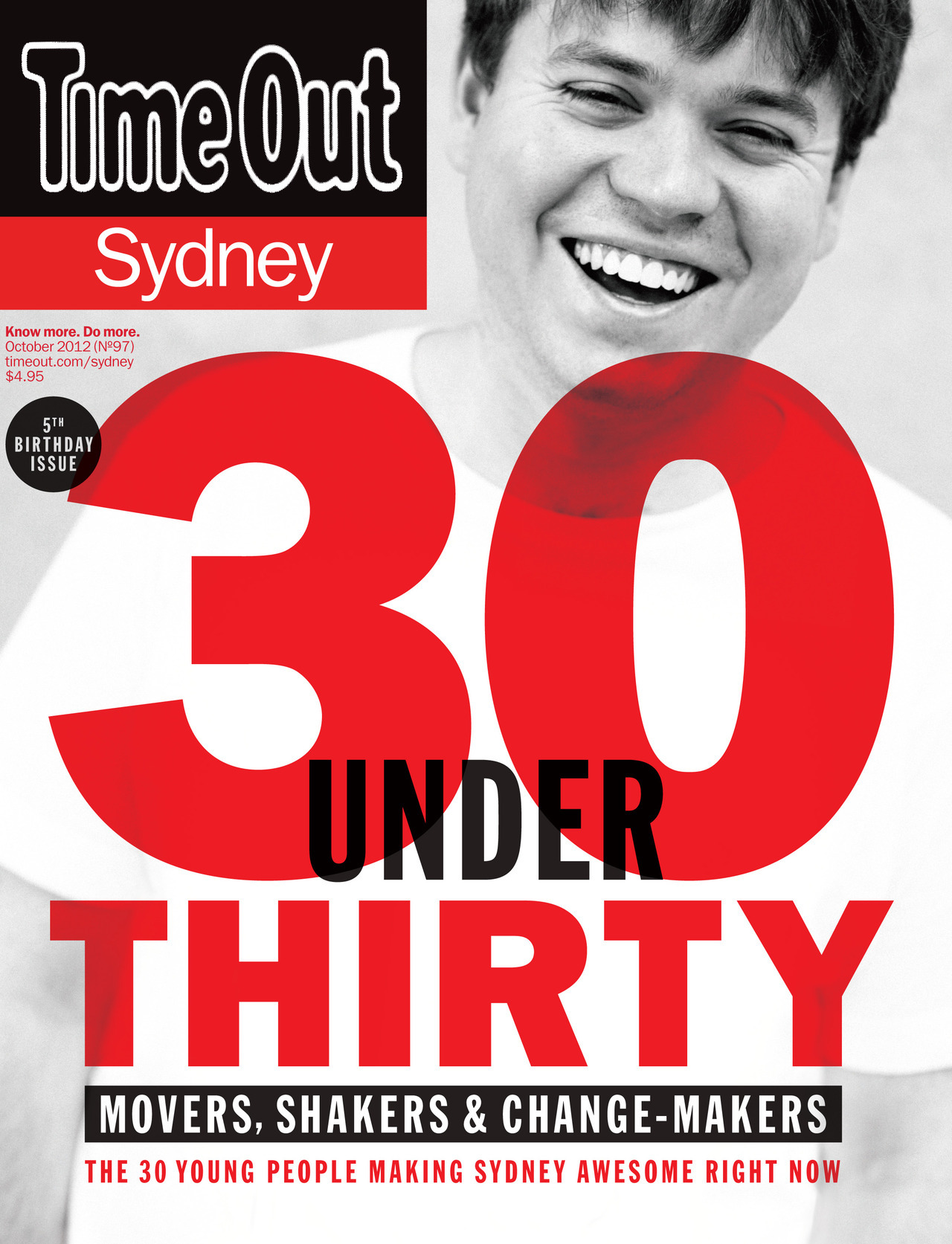 The new issue of Time Out Sydney features a bunch of black and white portraits i took at Carriageworks.  Not all my favourite pictures can make it into the magazine or website, so i've made a gallery - 30 Under 30 portraits.