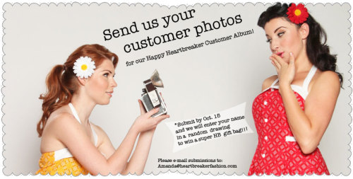 Send your Heartbreaker Customer photos to me! Amanda@Heartbreakerfashion.com