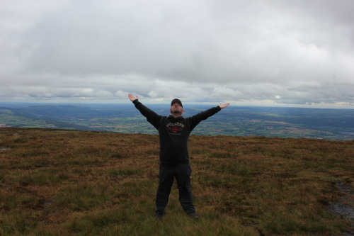 YAY ON TOP OF SLIEVENAMON!!!