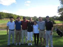 Morse's kick-axe IM Golf team! Michael Liang '16, Andrew Kim '15, David Carty '14, Jade Nicholson '14, Jessica Zhang '13, Luke Zolnierowski '14, and Nick Demas '13 all came out on beautifully sunny Monday to field an unprecedented TWO teams for Morse! MORSE ALWAYS WINS AND SHOOTS UNDER PAR!